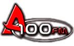 logo ραδιοφωνικού σταθμού A100FM