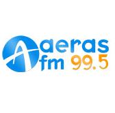 logo ραδιοφωνικού σταθμού Aέρας FM