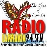 logo ραδιοφωνικού σταθμού Radio Larrakia