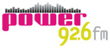 logo ραδιοφωνικού σταθμού Power 92,6 fm
