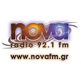 logo ραδιοφωνικού σταθμού Nova FM