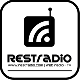logo ραδιοφωνικού σταθμού REST Radio