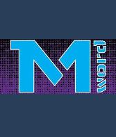 logo ραδιοφωνικού σταθμού M-word web radio