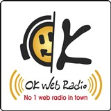 logo ραδιοφωνικού σταθμού OK WEB RADIO