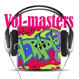 logo ραδιοφωνικού σταθμού Vol Masters
