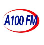 logo ραδιοφωνικού σταθμού A 100 FM