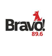 logo ραδιοφωνικού σταθμού Bravo FM