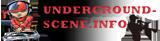 logo ραδιοφωνικού σταθμού Underground Scene