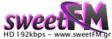 logo ραδιοφωνικού σταθμού sweetFM