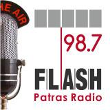logo ραδιοφωνικού σταθμού FLASH Πάτρας