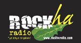 logo ραδιοφωνικού σταθμού Rockharadio