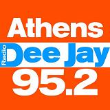logo ραδιοφωνικού σταθμού Athens DJ