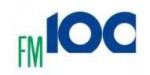 logo ραδιοφωνικού σταθμού FM 100 Δημοτικό Ραδιόφωνο Θεσσαλονίκης