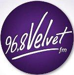 logo ραδιοφωνικού σταθμού Velvet