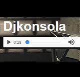 logo ραδιοφωνικού σταθμού Dj Κονσόλα