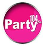 logo ραδιοφωνικού σταθμού Party fm