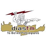 logo ραδιοφωνικού σταθμού Δίας FM