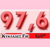 logo ραδιοφωνικού σταθμού Κυκλάδες FM