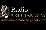 logo ραδιοφωνικού σταθμού Ράδιο Aκούσματα HYDRA