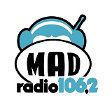 logo ραδιοφωνικού σταθμού MAD Radio