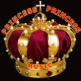logo ραδιοφωνικού σταθμού PRINCESSMUSIC