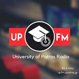 logo ραδιοφωνικού σταθμού UP FM