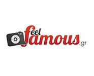 logo ραδιοφωνικού σταθμού Feel Famous Radio