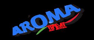 logo ραδιοφωνικού σταθμού Aroma FM