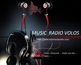 logo ραδιοφωνικού σταθμού VOLOS MUSIC RADIO
