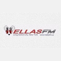 logo ραδιοφωνικού σταθμού Hellas FM