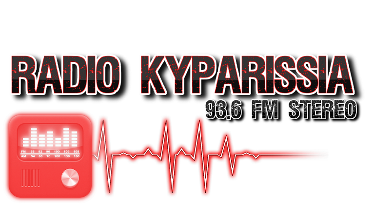 logo ραδιοφωνικού σταθμού Ράδιο Κυπαρισσία