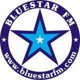 logo ραδιοφωνικού σταθμού BluestarFM