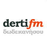 logo ραδιοφωνικού σταθμού Derti FM