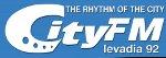 logo ραδιοφωνικού σταθμού City FM