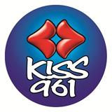 logo ραδιοφωνικού σταθμού Kiss FM Κρήτης