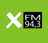 logo ραδιοφωνικού σταθμού X FM