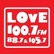 logo ραδιοφωνικού σταθμού Love FM