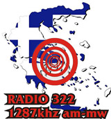 logo ραδιοφωνικού σταθμού ΡΑΔΙΟ 322