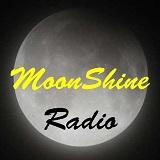 logo ραδιοφωνικού σταθμού Moonshine Radio