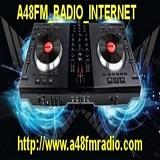 logo ραδιοφωνικού σταθμού A48FM