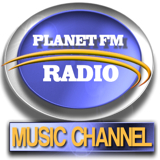 logo ραδιοφωνικού σταθμού PLANET-FM.GR