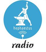 logo ραδιοφωνικού σταθμού Ηephaestus Radio