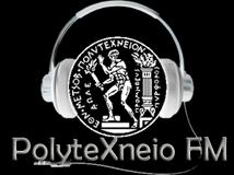 logo ραδιοφωνικού σταθμού Polytexneio FM