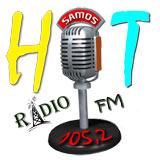 logo ραδιοφωνικού σταθμού Hot Fm