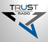 logo ραδιοφωνικού σταθμού TRUST RADIO