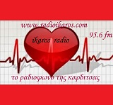 logo ραδιοφωνικού σταθμού Ράδιο Ίκαρος
