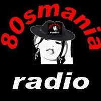 logo ραδιοφωνικού σταθμού 80sMania Radio