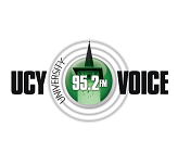 logo ραδιοφωνικού σταθμού UCY Voice