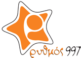 logo ραδιοφωνικού σταθμού Ρυθμός Κέρκυρας
