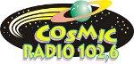 logo ραδιοφωνικού σταθμού Cosmic Radio
